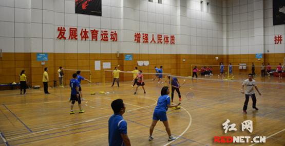 湖南省委党校今年第一轮主体班举办羽毛球比赛