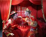 外籍友人的中式婚礼