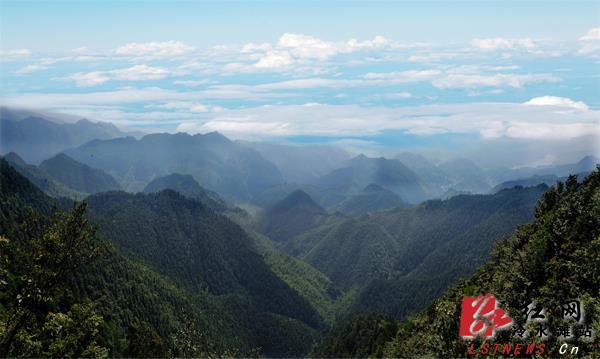 四明山风景
