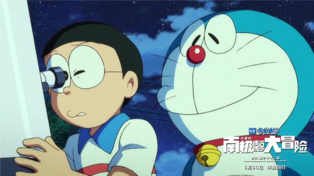 哆啦a梦电影再曝海报预告 真假哆啦a梦终对决