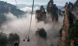 Sea of Clouds in Zhangjiajie
