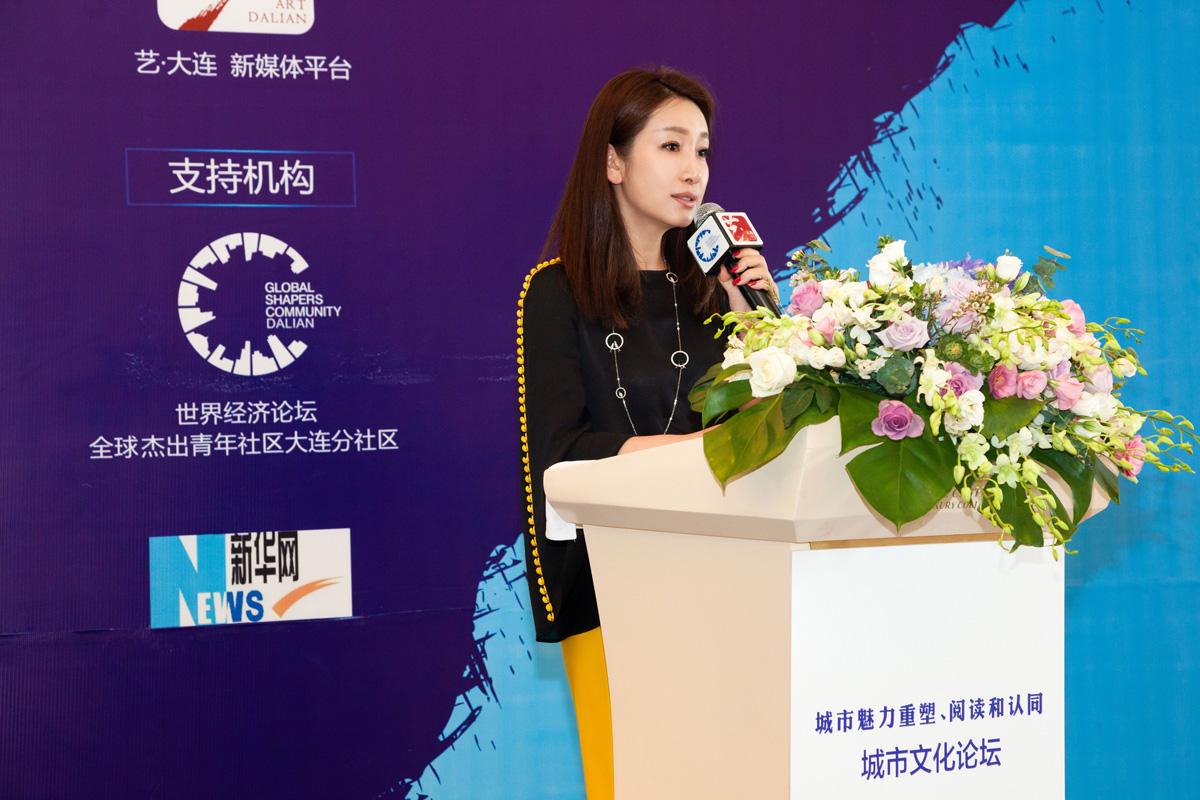 秦海璐助阵达沃斯论坛 被聘春藤计划梦想导师