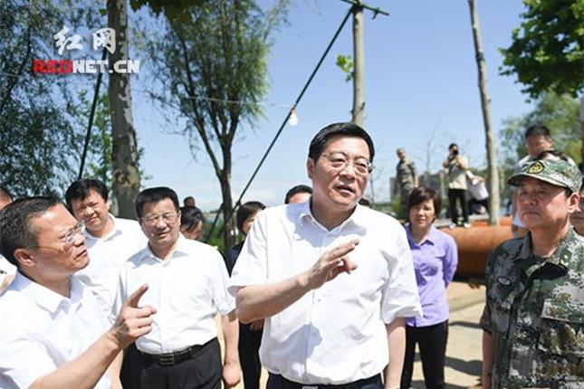 杜家毫:奋力夺取防汛抗灾全面胜利