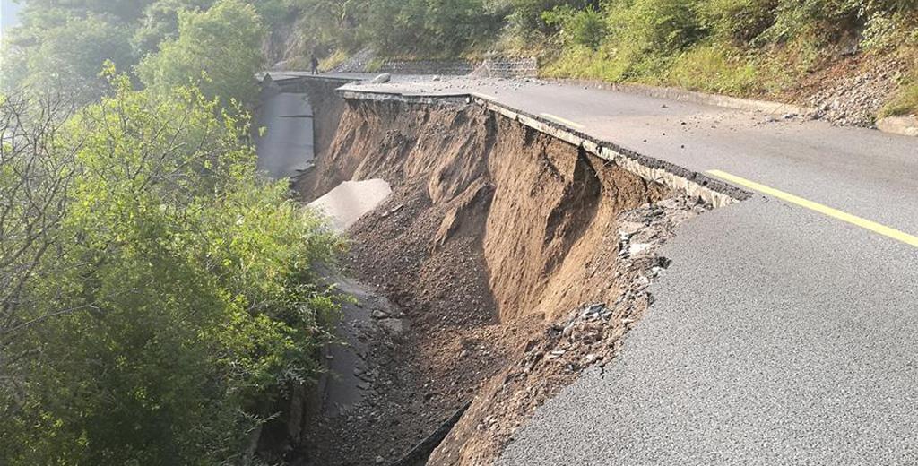 九寨沟景区受损状况