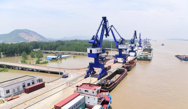 """生态优先 黄石新港着力建设""""绿色港口"""""""