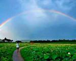 零陵双牌雨后现双彩虹