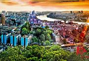 Beautiful Shaoyang City, Hunan Province