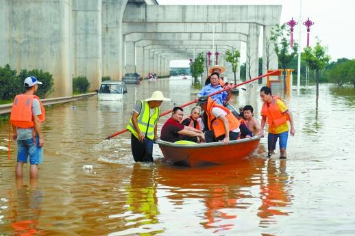 勇哉!英雄的湖南人民――湖南省抗击历史罕见暴雨洪水回眸(下)