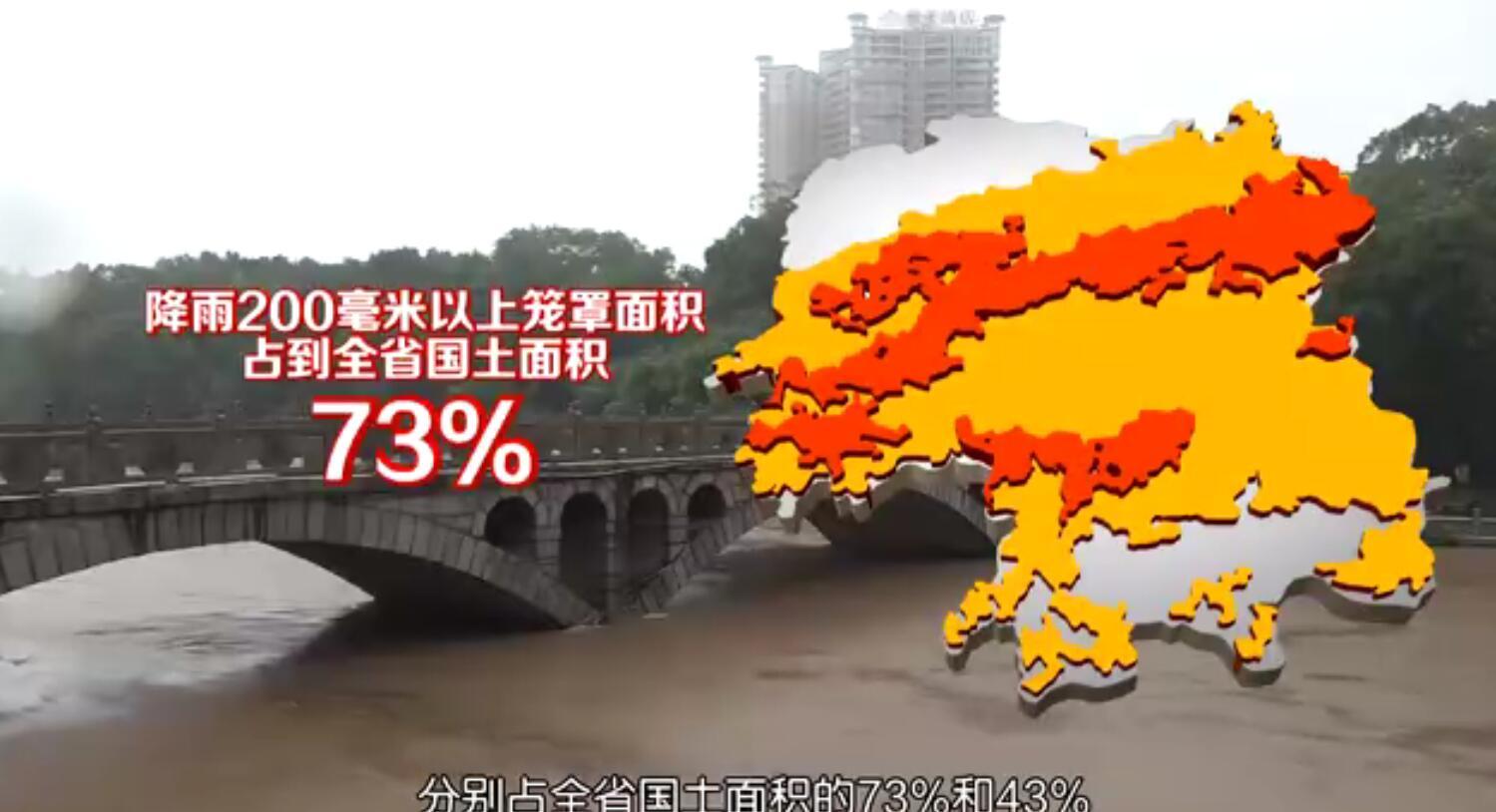 众志成城战洪峰