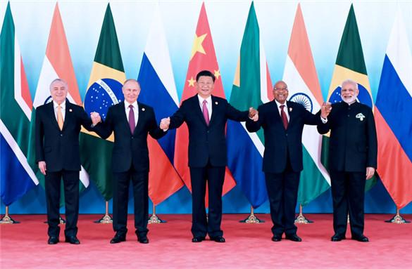 习近平主席出席金砖国家领导人厦门会晤系列活动纪实