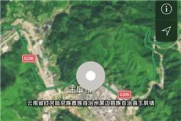 云南屏边县干田村突发山体塌方 致2人死亡1人失联