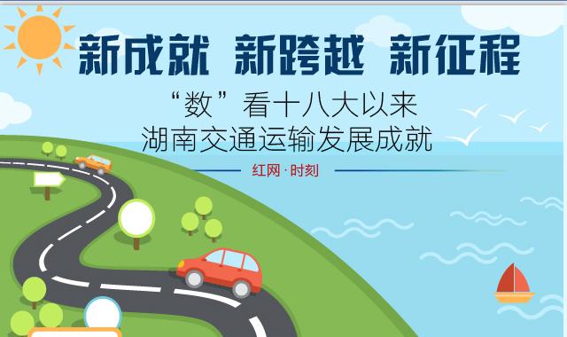 """""""数""""看懂十八大以来湖南交通运输发展成就"""