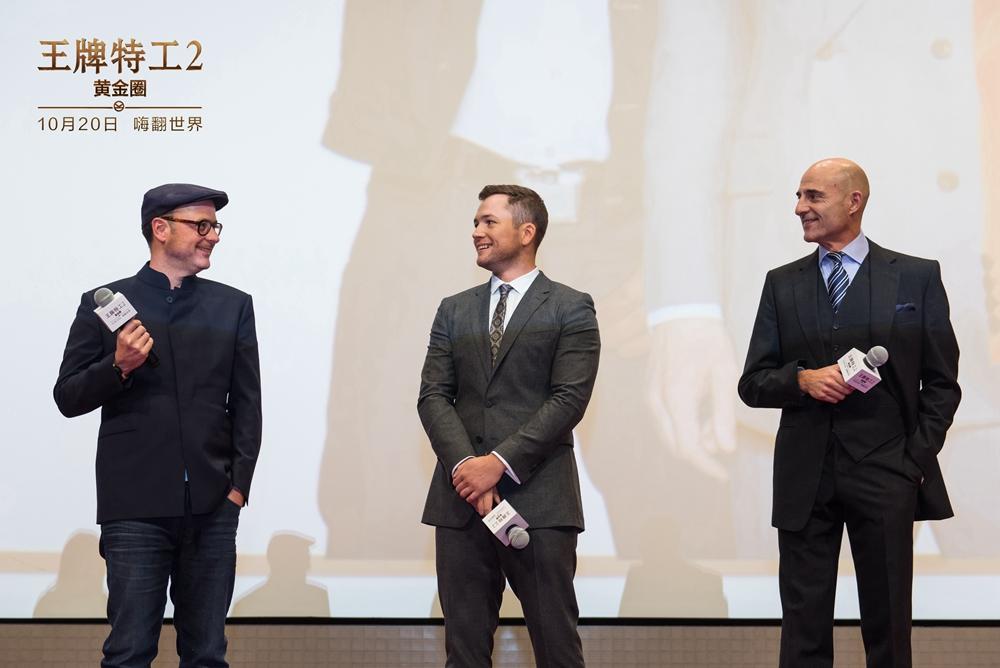 《王牌特工2》首映礼 导演透露有意来华拍续集
