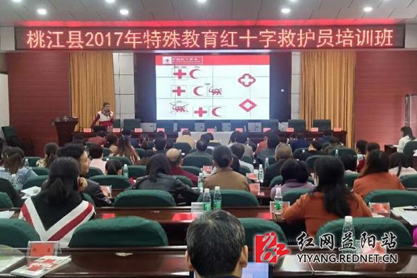 桃江县72名教师参加红十字救护员培训