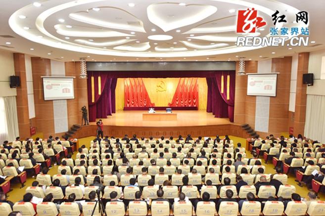 张家界市举行省委宣讲团党的十九大精神报告会