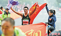 长沙国际马拉松赛昨成功举行 中国男选手首获长马全程赛冠军