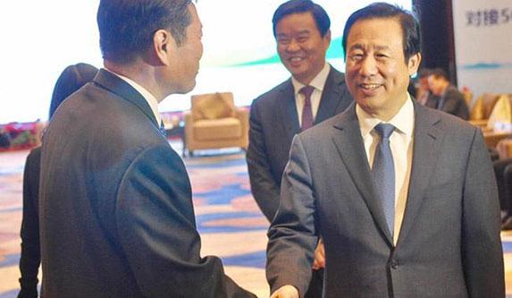 许达哲会见世界500强等知名企业代表 与湘商代表同叙湘情共谋发展