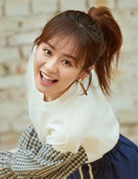 郑合惠子运动少女风 青春气息活力无限
