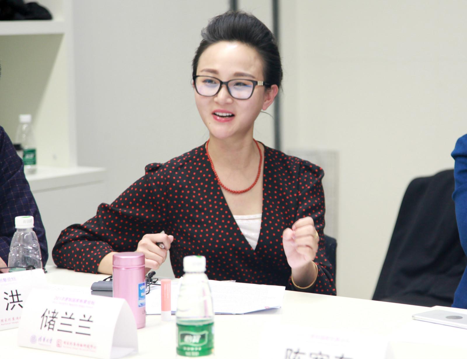 国家形象论坛深情演讲 储兰兰畅想新京剧未来