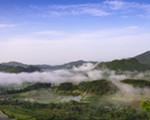 水岭雾景 美若仙境
