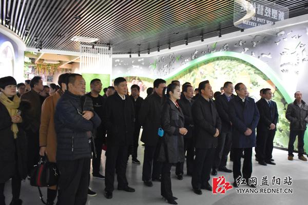 益阳:赫山现代农业改革发展示范区展示馆开馆