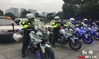 长沙开福区启动交警城管联合整治违法停放行动