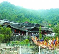 """古丈县牛角山村――在海拔800多米处""""示范"""""""