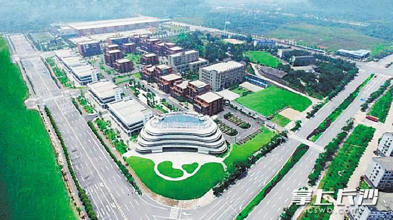 位于金霞经开区的军民融合产业示范园。金霞经开区管委会供图