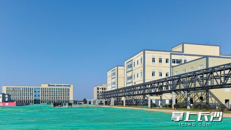 托阳制药原料药、辅料生产基地项目为铜官循环经济工业园生物医药产业重点项目。该项目总投资12亿元。长沙晚报记者 王志伟 摄