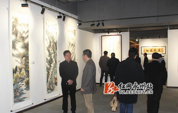 90幅书画作品展示蓝山诗画之美 市民可免费观展