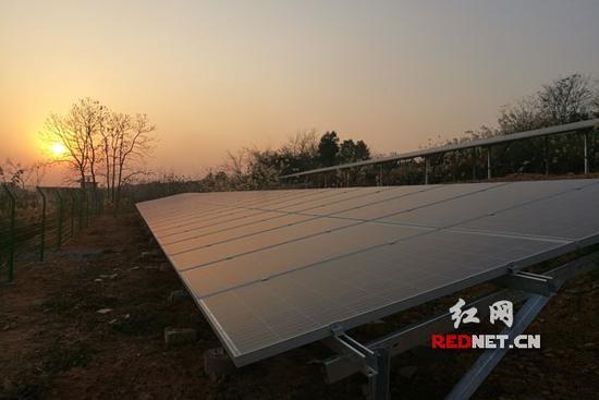 永清环保七大光伏项目全部并网发电 每年减排660吨废气