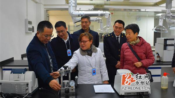 国家质检总局对焊剂产品永州国检中心开展评审