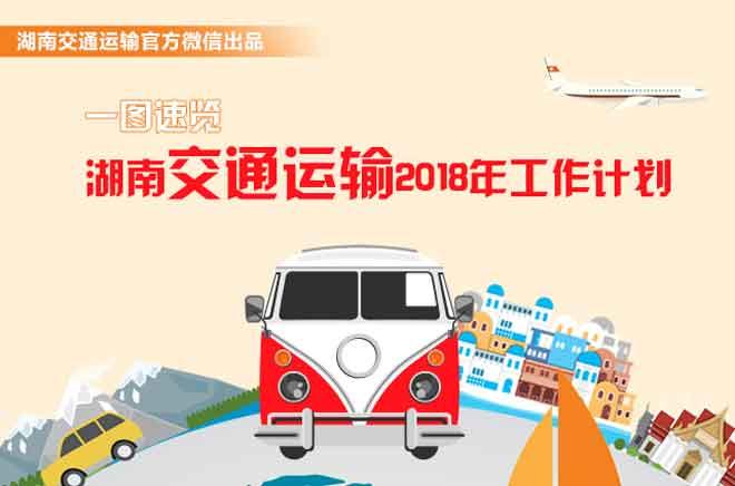 【图解】一图速览湖南交通运输2018年工作计划