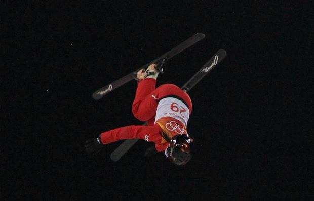 自由式滑雪女子空中技巧中国队一银一铜