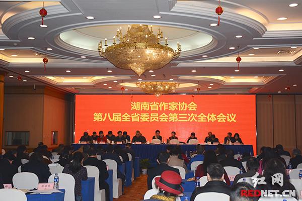 湖南省作协八届三次全委会召开 湖南文学事业