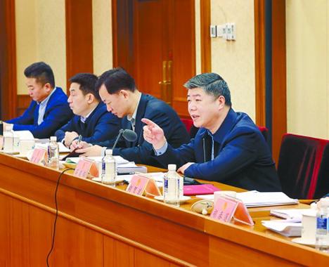 湖南代表团分组审议政府工作报告