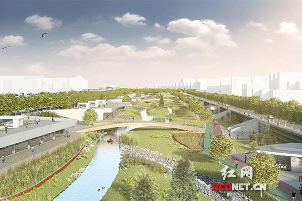 长沙首个海绵城市示范公园启建