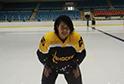 冰球教练刘爽:我从黑龙江来 想为长沙穿上一双冰鞋