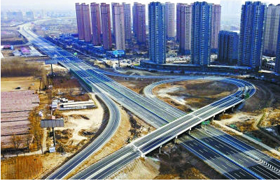 京秦高速三河段二期工程主体完工(图)