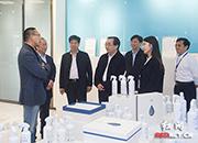 上海企业考察团走进宁乡经开区 谋求合作
