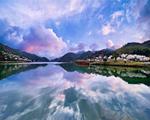 双牌阳明山万和湖每月景色变幻(组图)