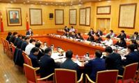 杜家毫与2017年度计划摘帽贫困县县委书记座谈