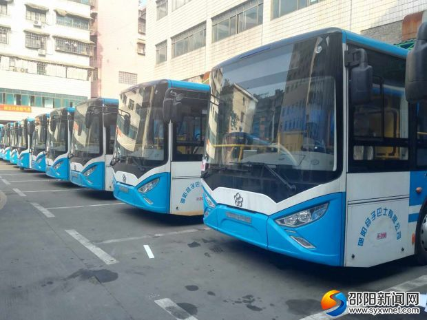 邵阳市区18条公交线路将有新能源车369台 占比达71.1%