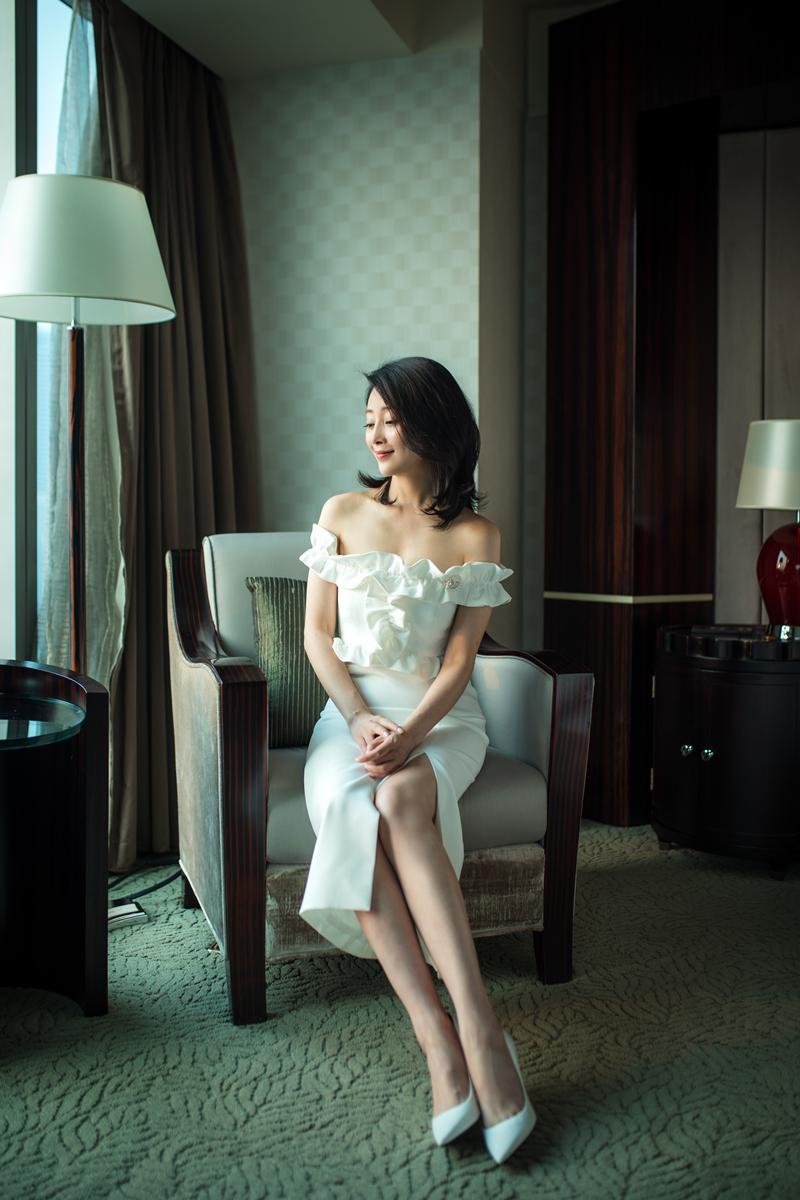 殷桃受邀中国电视剧诞生60周年盛典 尽显清丽脱俗气质