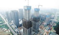 """长沙""""河西第一高楼""""突破200米"""