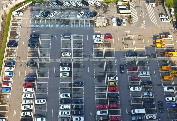 长沙政府机关单位首个智慧停车场建成启用