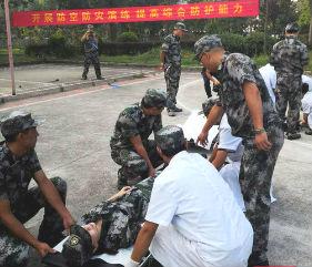 邵阳市掀起新时代大抓人防训练新高潮