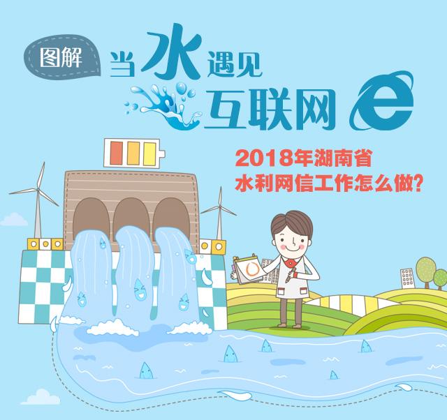 图解|当水遇见互联网 2018年湖南水利网信工作怎么做?