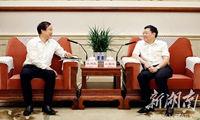 杜家毫与张建民座谈:进一步推进湖南烟草产业转型发展