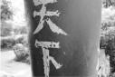 平文涛刚被刑拘 又有人在岳王公园刻上《满江红》
